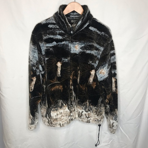 Outback Trading Company Jackets & Blazers - Outback trading company canyon run horse jacket